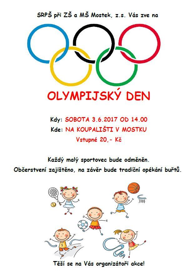Olympijský den 1
