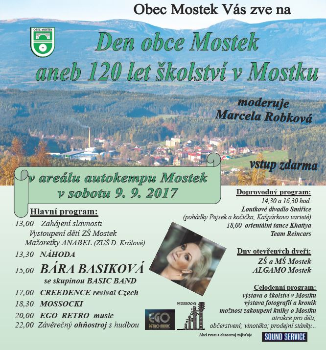 Den obce Mostek 1
