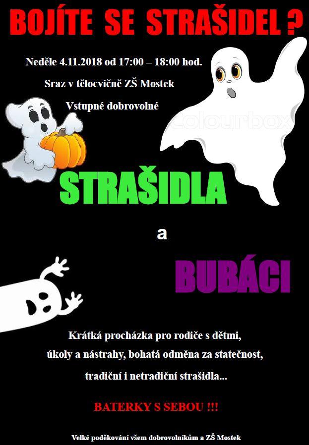 Bojíte se strašidel?