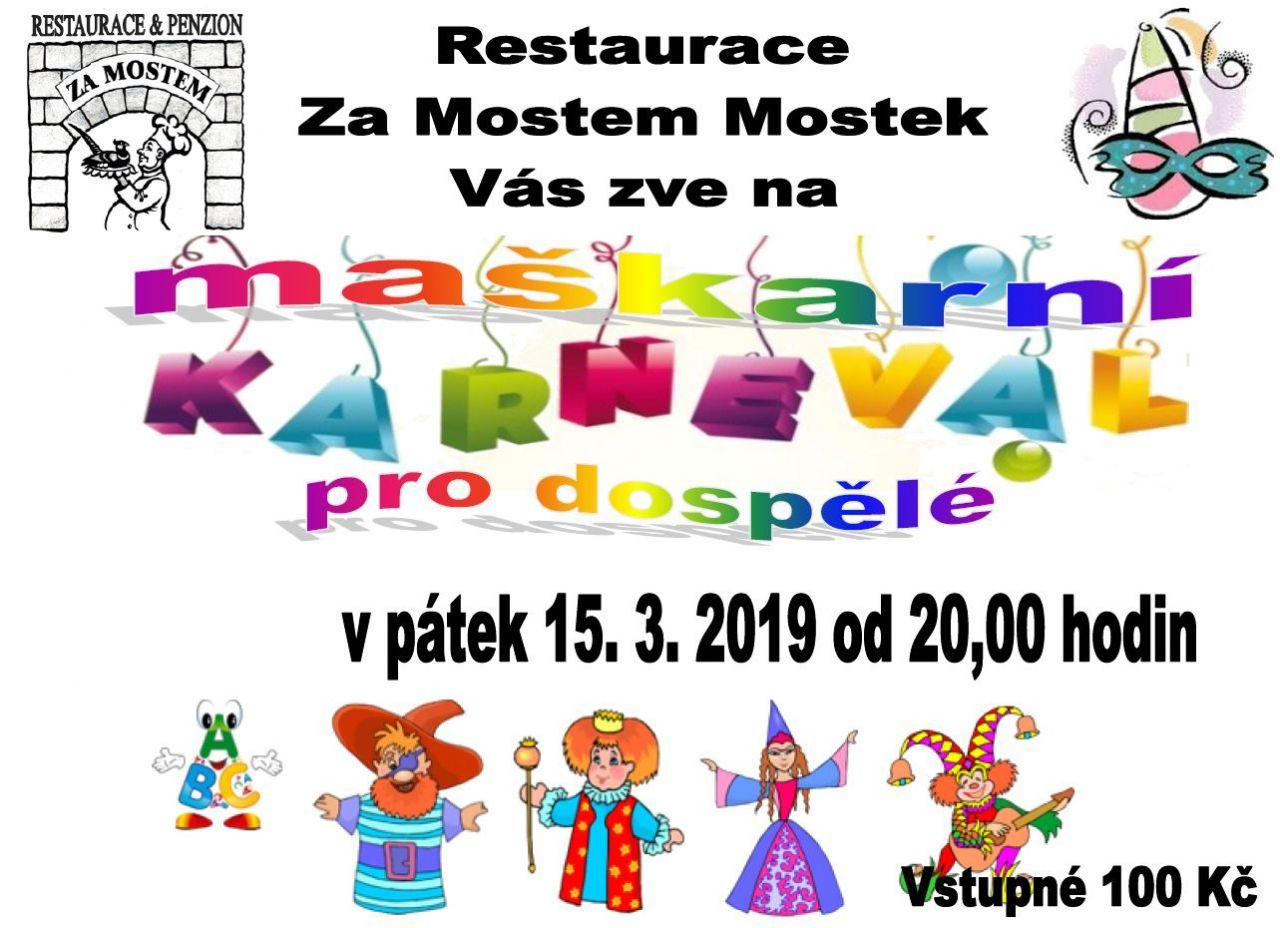 Maškarní karneval Za Mostem 1