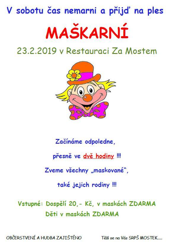 Dětský maškarní karneval 1